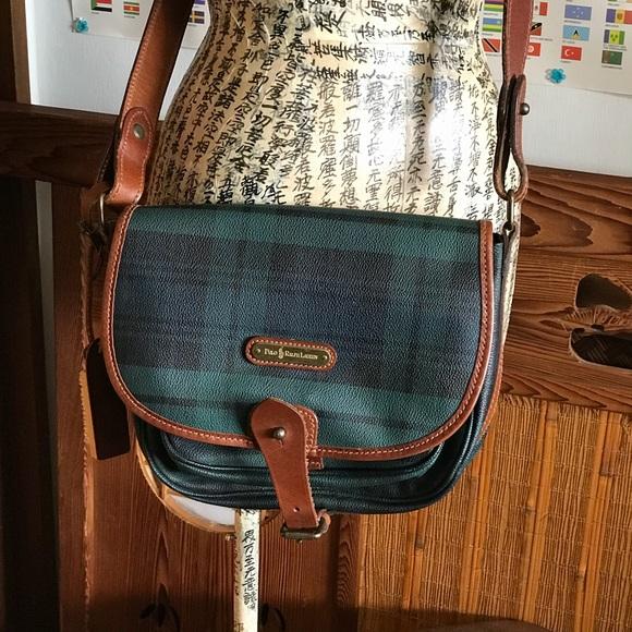 fd522b13fc1f Vintage Polo Ralph Lauren tartan plaid crossbody. M 5a9faad0b7f72bd6d0d194da